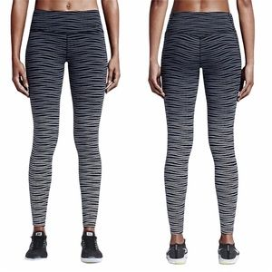 Nike Legendary Dri-fit Ombre-Striped Leggings